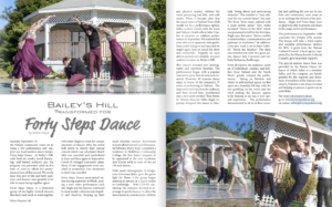 Forty Steps Dance Nahant Magazine Fall 2020